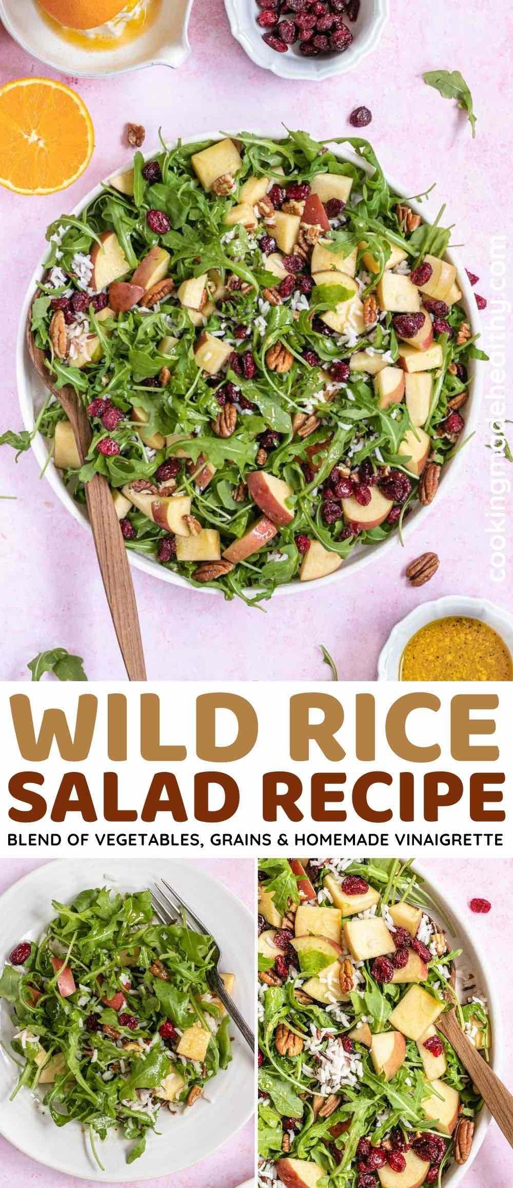 Wild Rice Salad collage