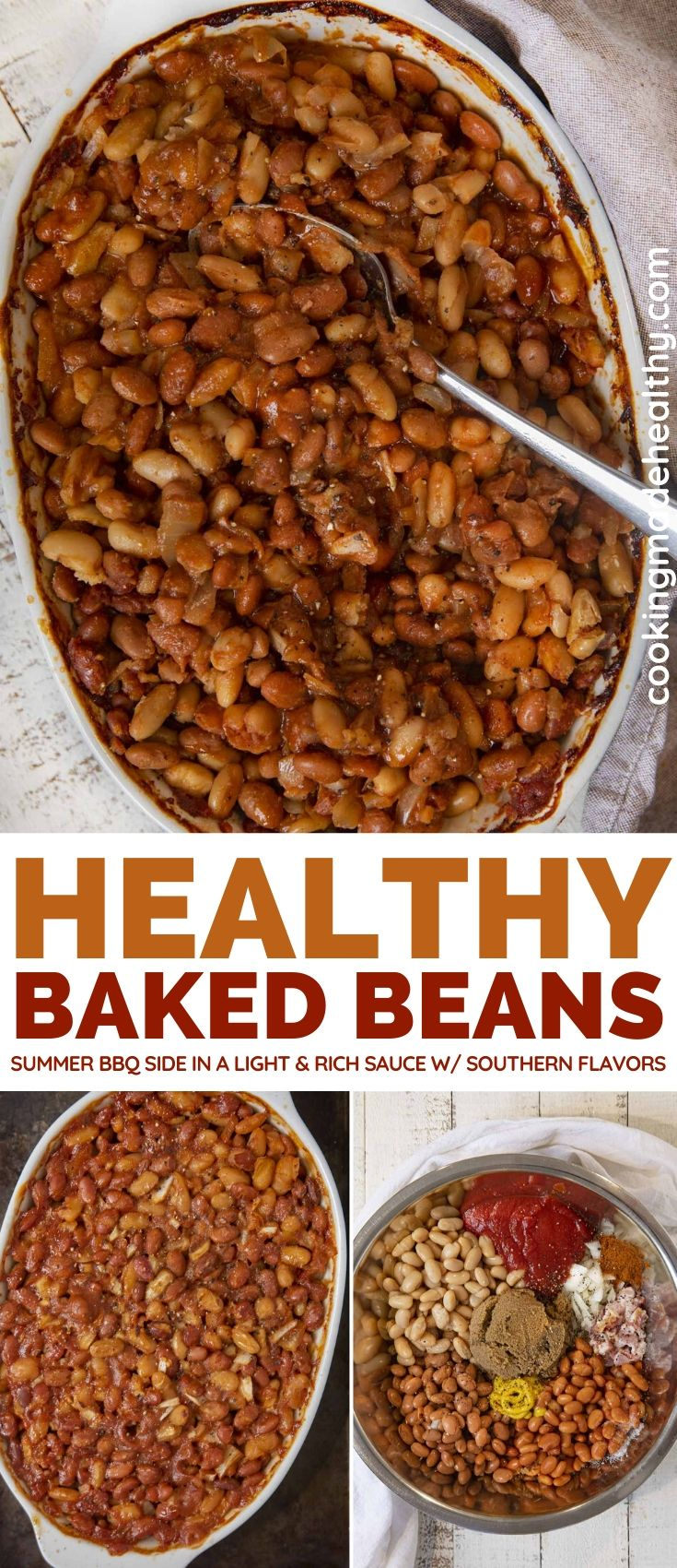 Healthier Baked Beans