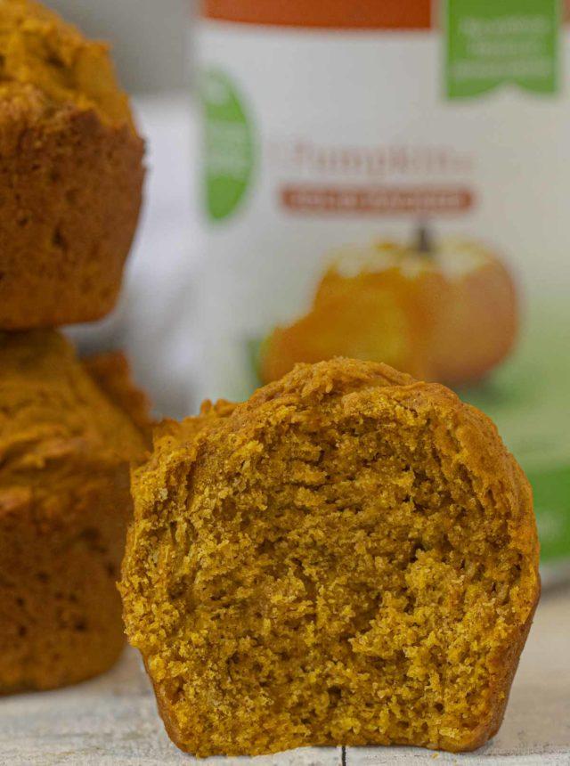 Skinny Pumpkin Muffins