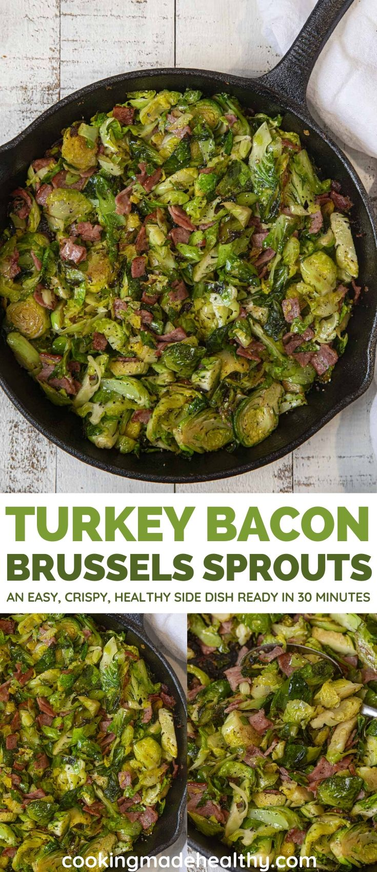 Healthy Holiday Brussels sprouts