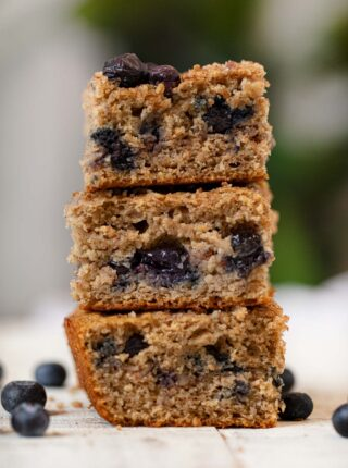 Whole Wheat Blueberry Coffee Cake