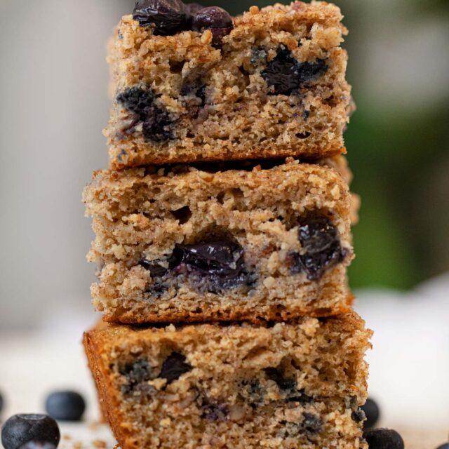 Whole Wheat Blueberry Coffee Cake