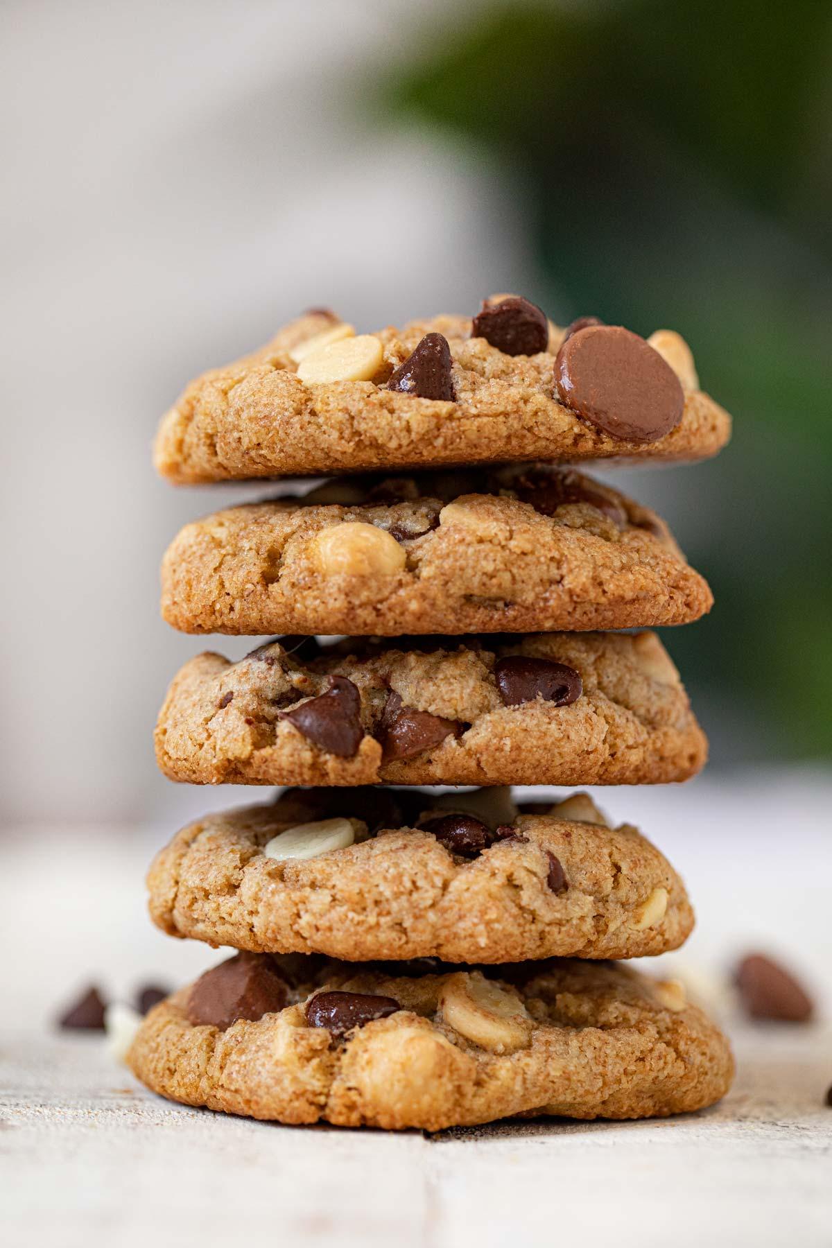 Healthy Triple Chocolate Cookies