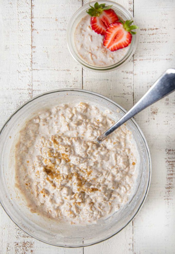 Overnight Oats in bowl