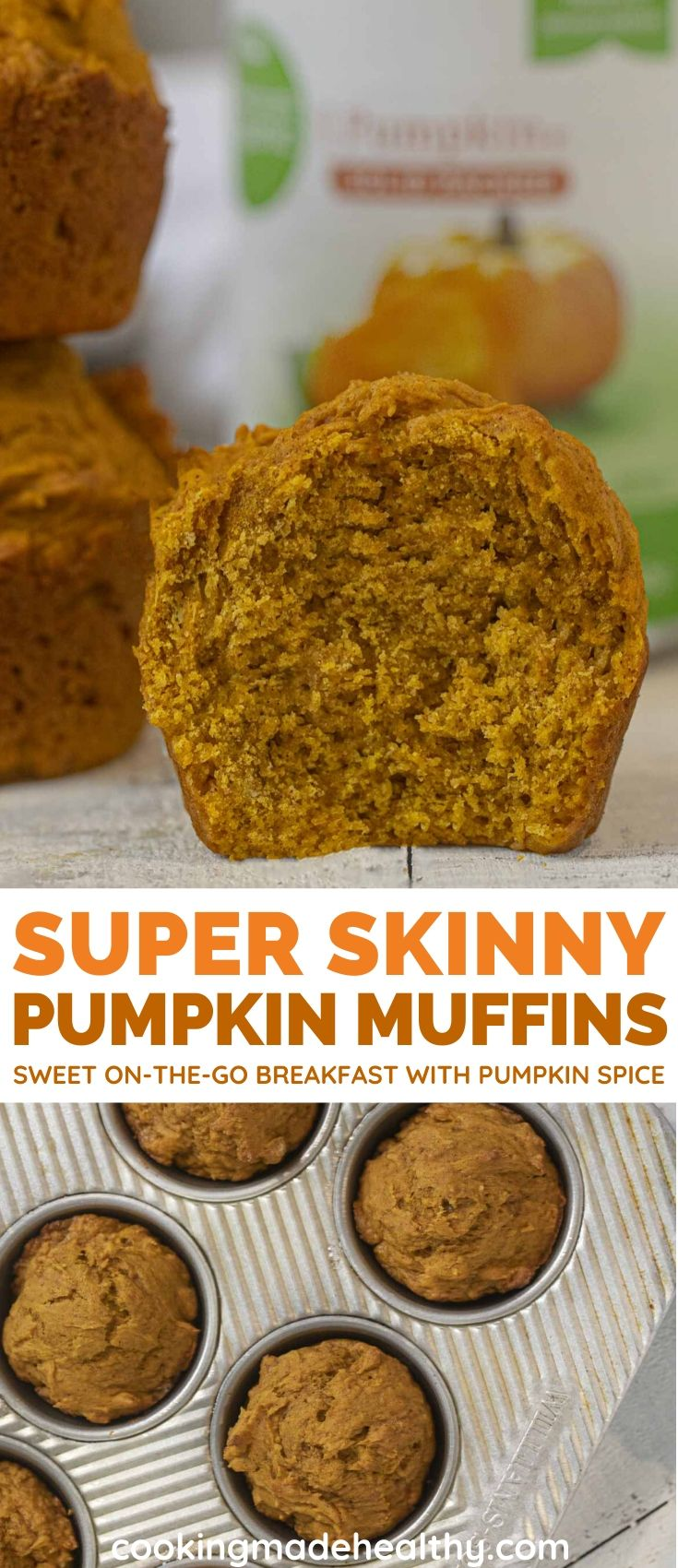 Super Skinny Pumpkin Muffins Cooking Made Healthy