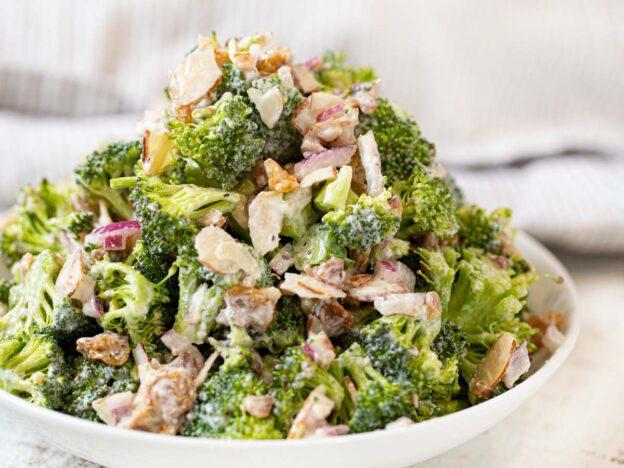 Greek Yogurt Broccoli Salad