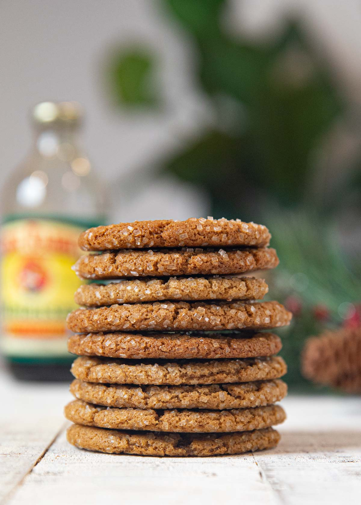 Chewy Healthy Ginger Cookies Recipe Cooking Made Healthy