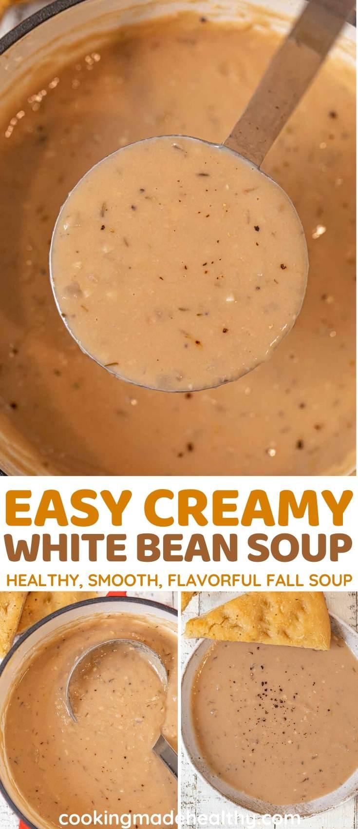 White Bean Soup collage