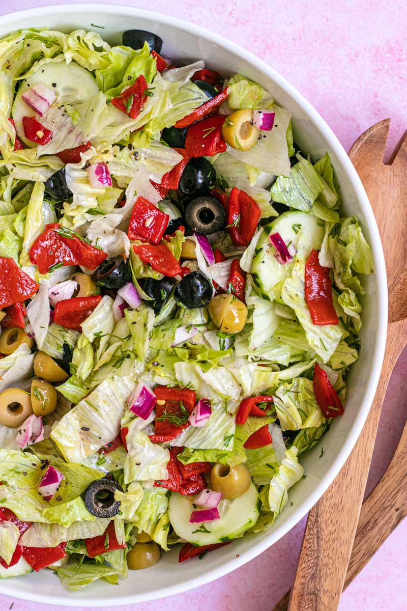 Chopped Salad in bowl