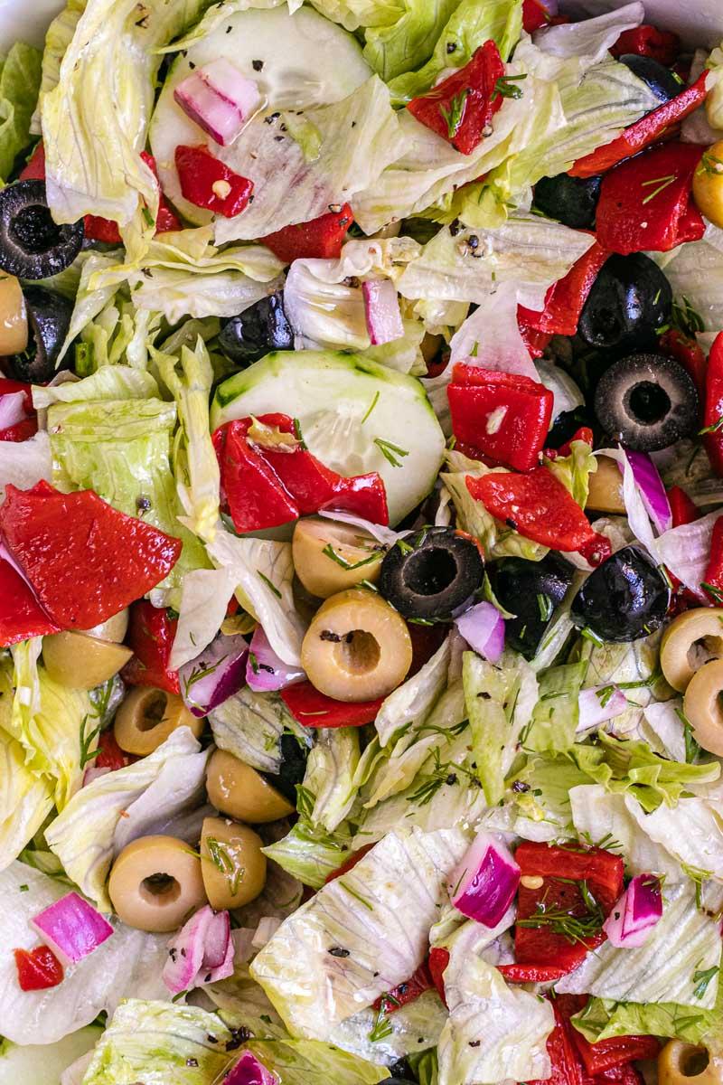 Chopped Salad close up