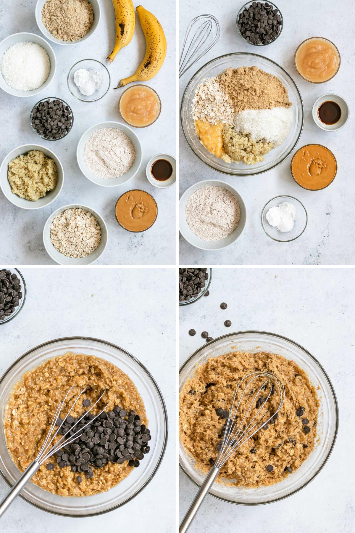 Quinoa Cookies Collage